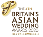 Phantom Hire has been highly commended during the 4th Britain's Asian Wedding Awards 2020