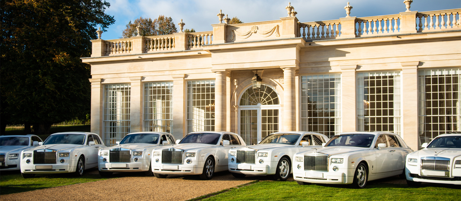 The most prestigious fleet of Rolls Royce throughout UK, Ireland and Europe