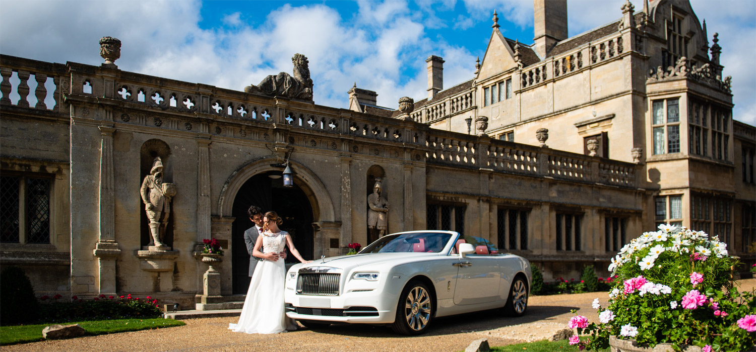 Your special day with Phantom Hire Luxury Wedding Car