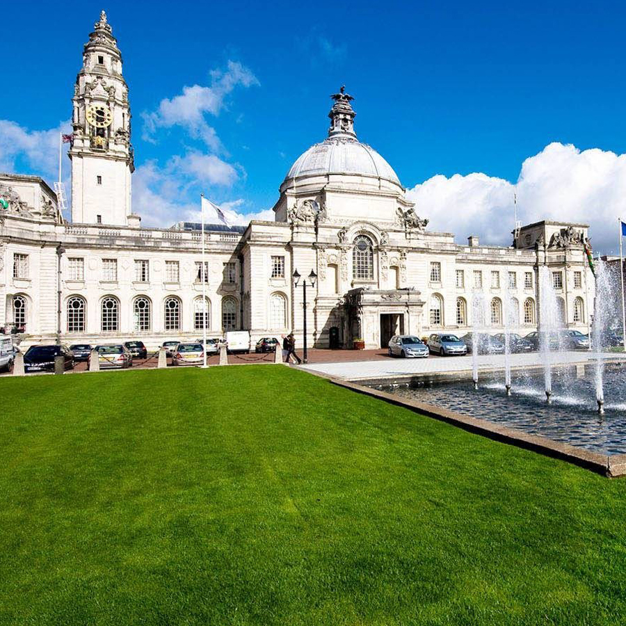Photo of the Cardiff City Hall