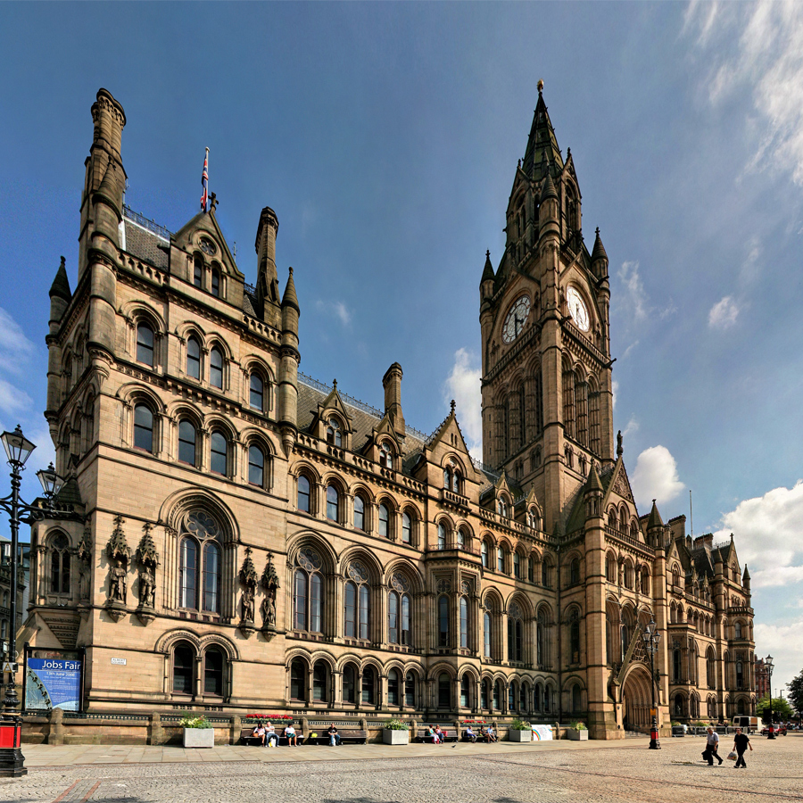 Photo of The Town Hall in Manchester