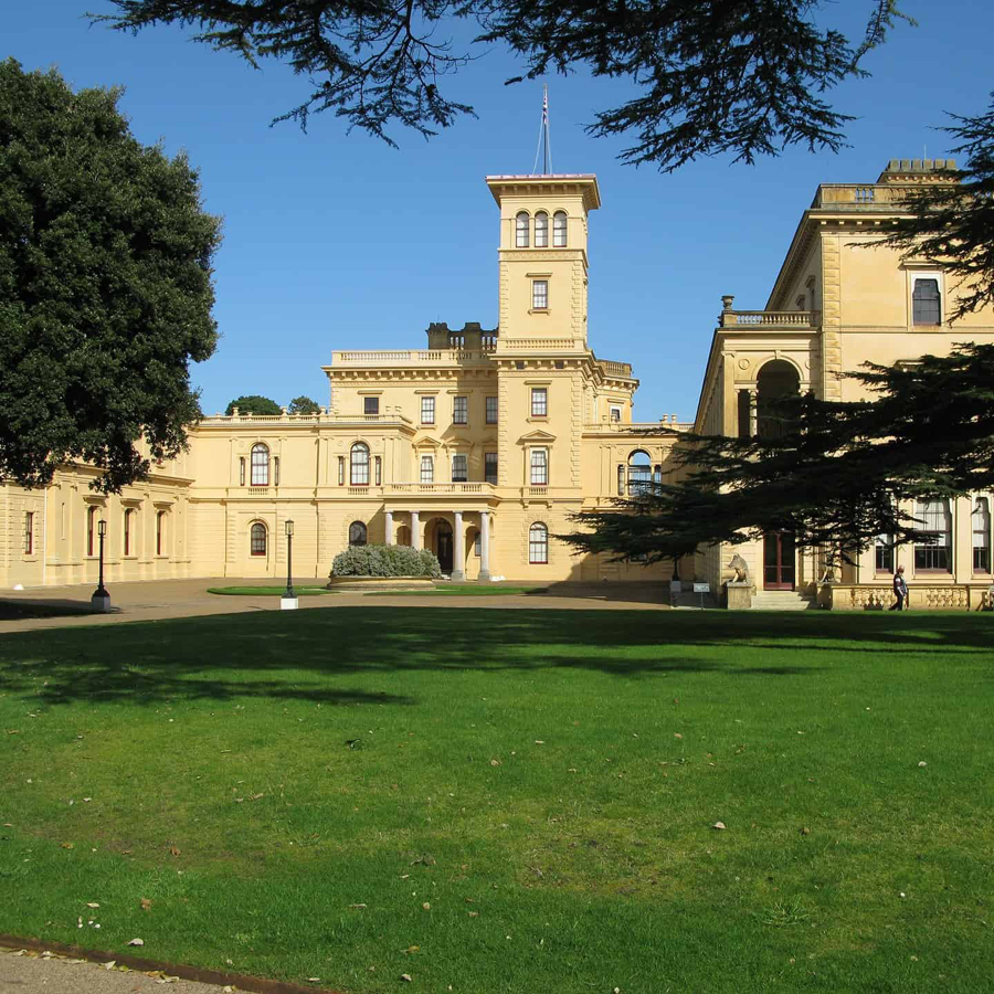Photo of the Osborne House in Newport