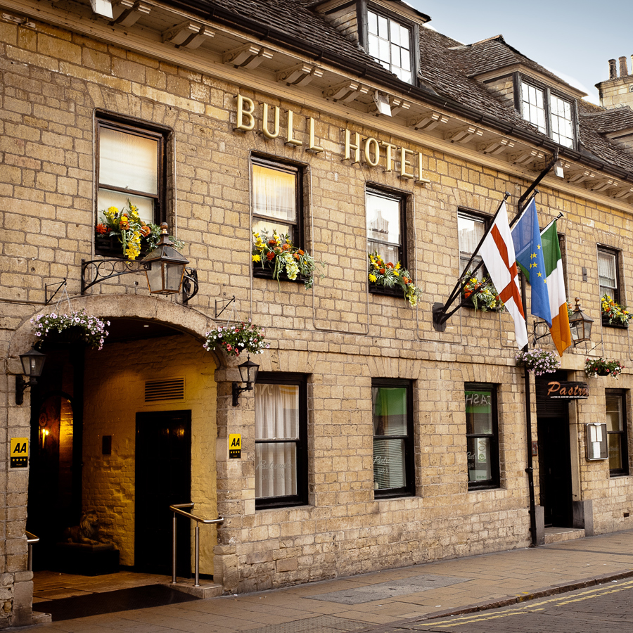 Photo of the Bull Hotel in Peterborough
